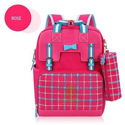 5581fd75a3 Girl Backpack Orthopedic School Bag Backpacks Primary School Bookbag Nice  Gift For Kid s New Trem