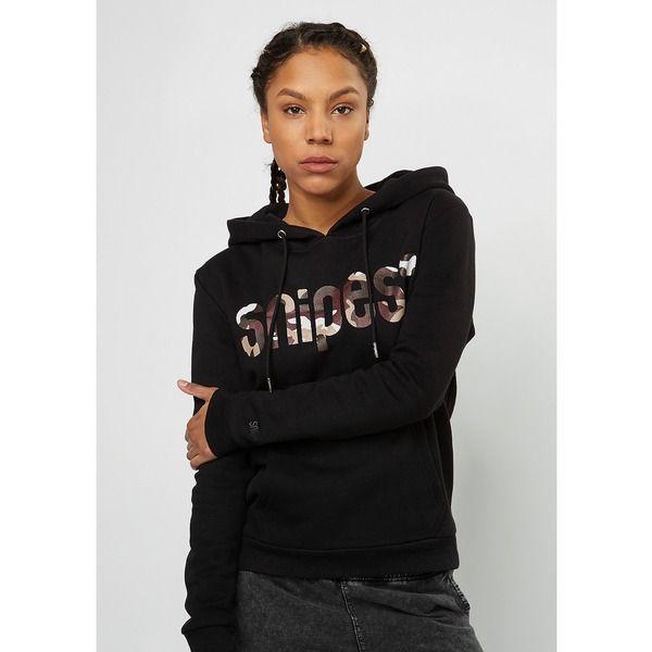 SNIPES Hooded Sweatshirt blackcamo | Kapuzenpulli