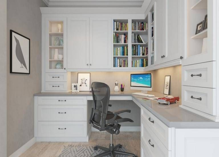 Newport White Pre Assembled Office Cabinets Home Office Design Office Cabinets Home Office Space