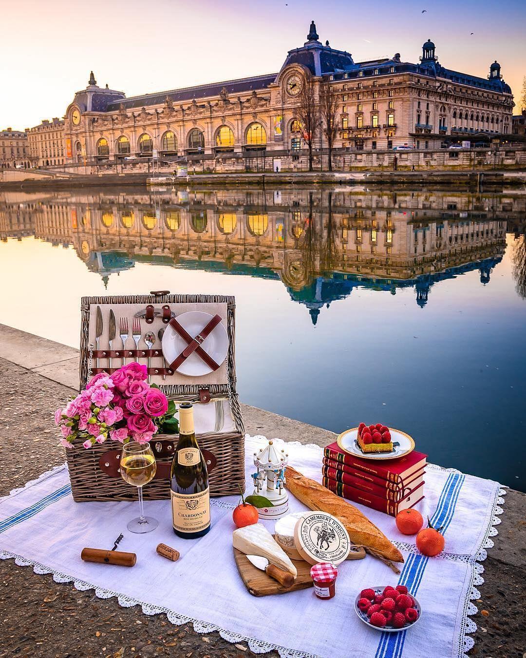 "Paris P@RIS #ThisisParis on Instagram: ""Picnic season is at our door, a  great location for picnic are the berge d… | Picnic in paris, Paris travel,  Travel aesthetic"