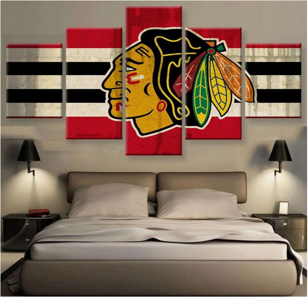 HD PRINTED LIMITED EDITION Chicago Blackhawks CANVAS | Home ...