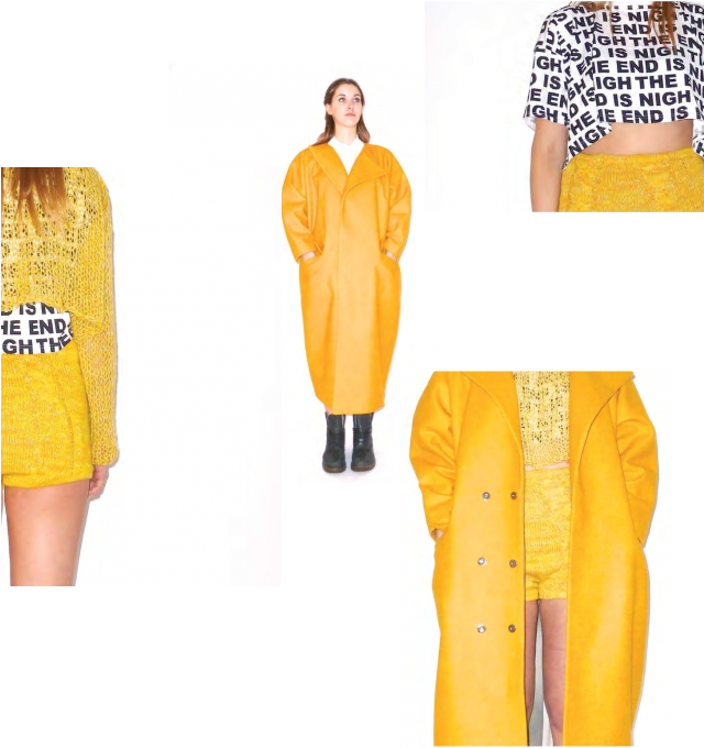 Modeconnect.com interviews Fashion Design student Sarah Hill on her graduate collection: 'The End is Nigh: Dress Accordingly', inspired by what one would wear for the end of the world.