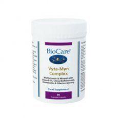 BioCare VytaMyn Complex – Multi Vitamin And Multi Mineral – 90 Vegicaps - http://vitamins-minerals-supplements.co.uk/product/biocare-vytamyn-complex-multi-vitamin-and-multi-mineral-90-vegicaps/