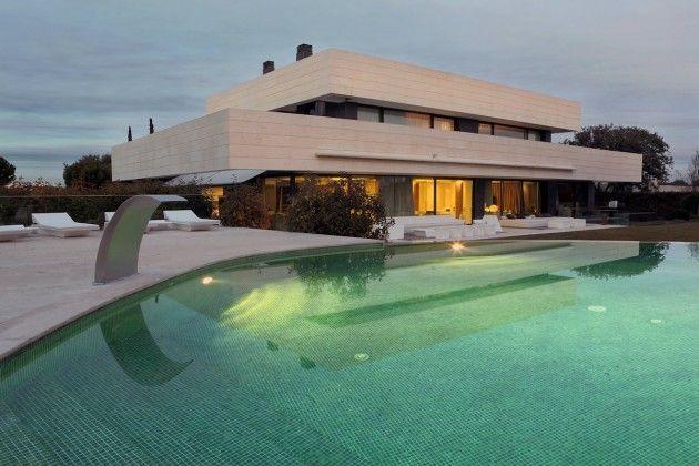 Maison Contemporaine Architecte A-cero Architecture, House and
