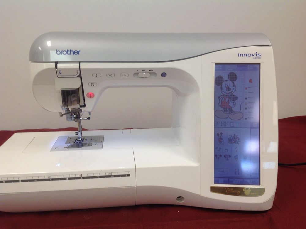 Brother Innovis NV 40D Sewing Embroidery Machine костюм Mesmerizing Brother 4000d Sewing Machine
