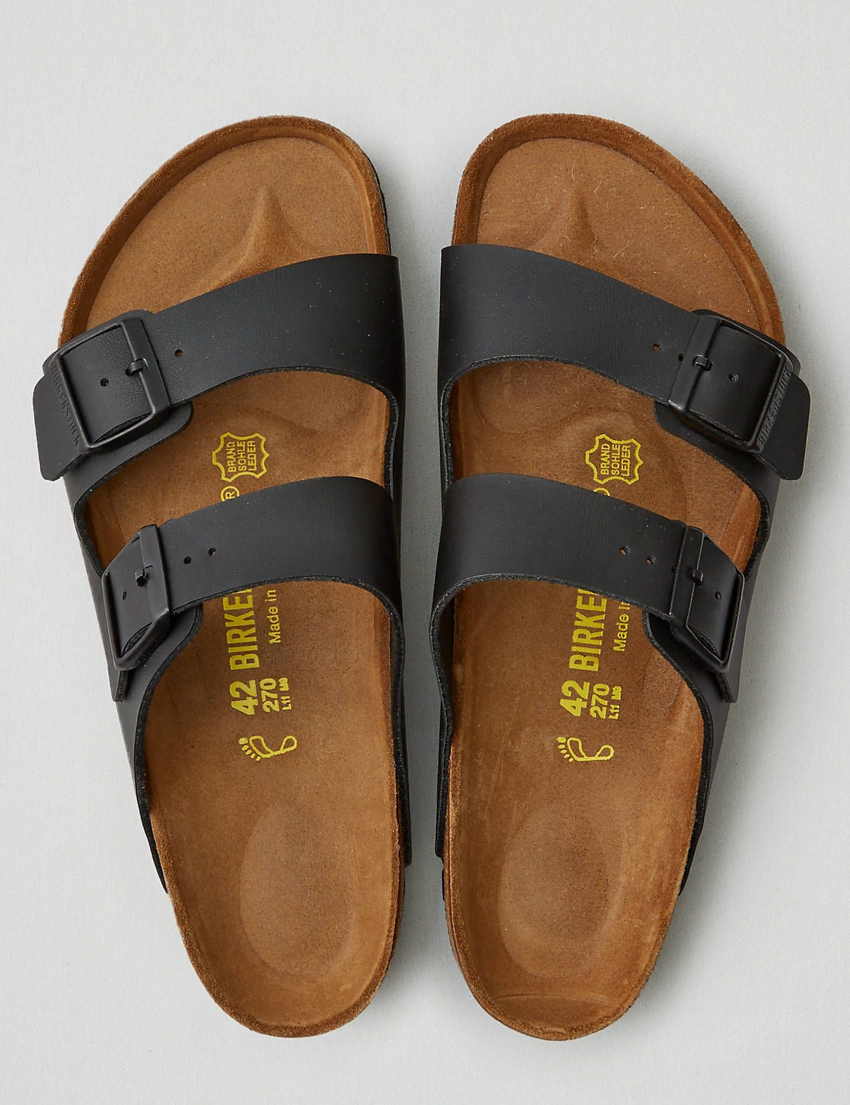 8f37328bd3f6 A buckle or two. That s the original Birkenstock. Made in Germany since  1774.