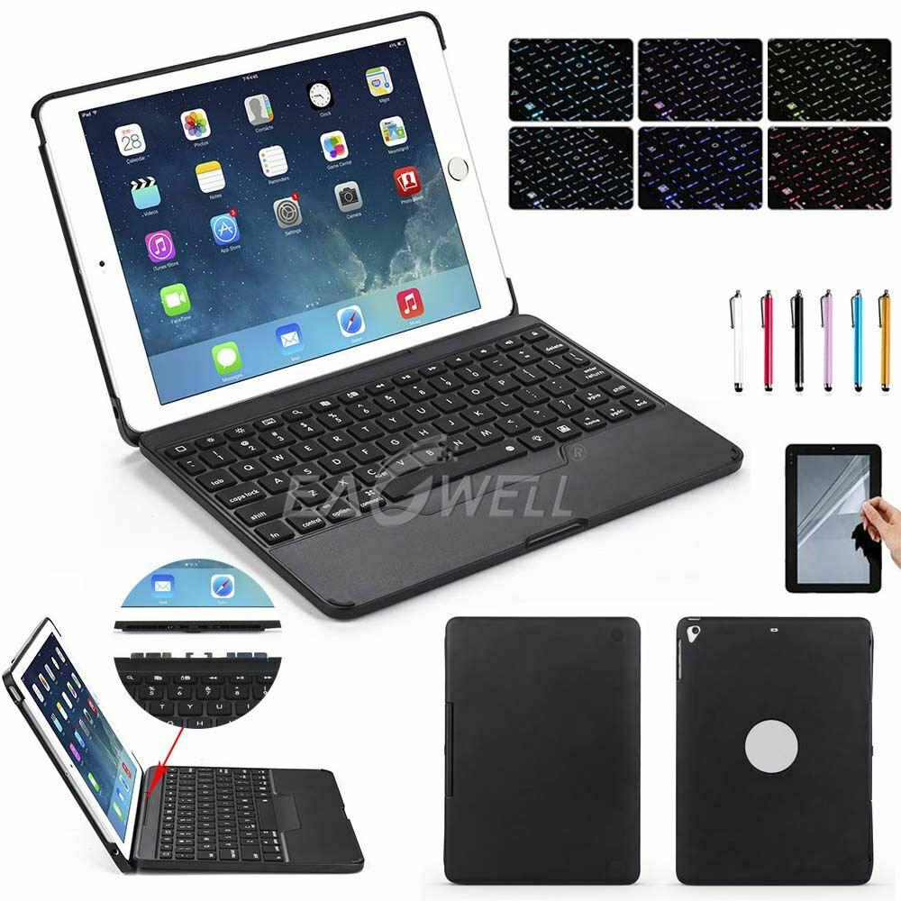 newest 5d817 f08af eBay #Sponsored Detachable Backlit Bluetooth Keyboard Case Cover For ...