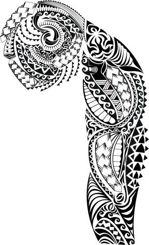 I Want This On My Left Arm Tribal Sleeve Tattoos Maori Tattoo