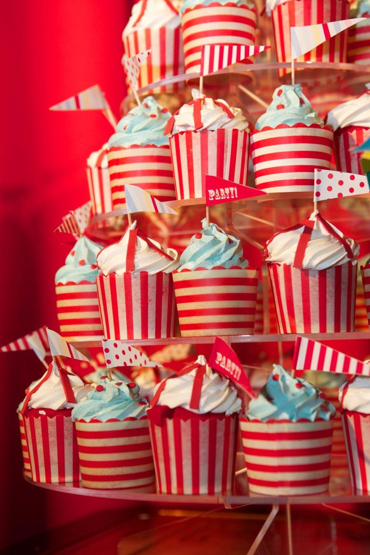 Circus Cupcake Decorating Ideas