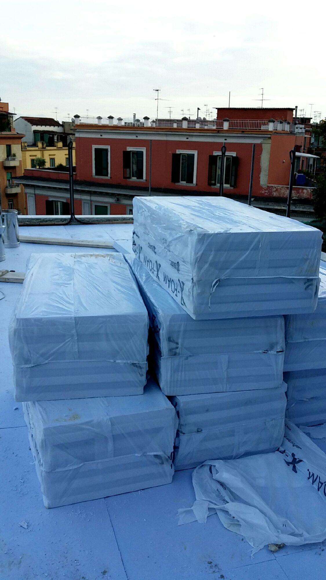 Coibentazione solaio fatta #ristrutturazioni #napoli #caserta ...