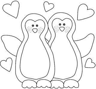 Riscos de pinguins ~ Desenhos e Riscos Pintura Country