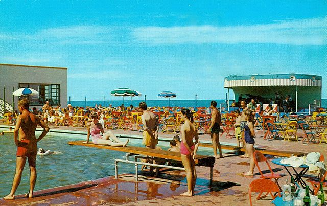 Surf Club Virginia Beach Sandbridge Beach Swimming Pool Art