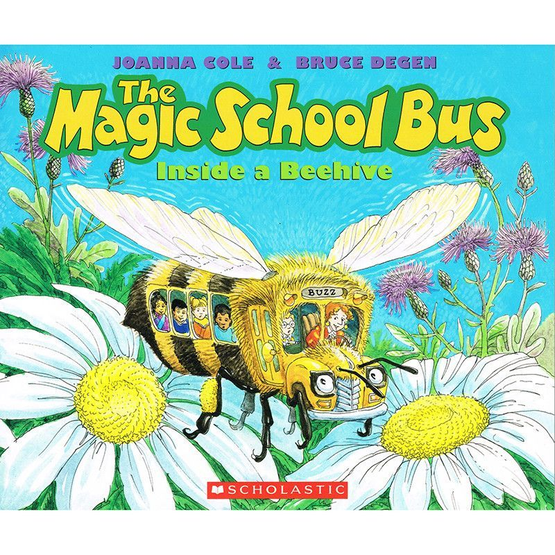 Magic school bus inside a beehive with images magic