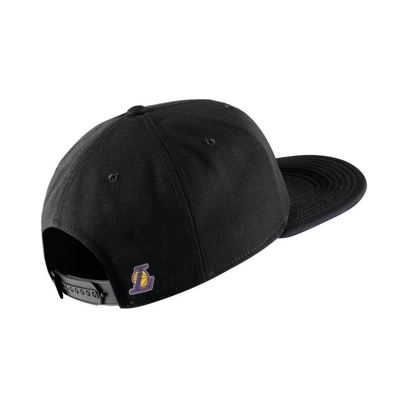 Los Angeles Lakers Nike Aerobill Nba Hat Black Nba Hats Los Angeles Lakers Nike