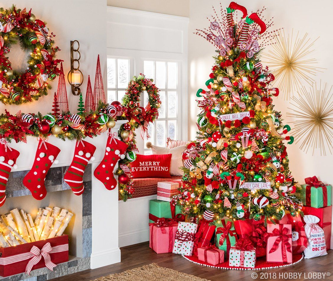 Tis The Season To Be Jolly And This Classic Christmas Collection Is Giving Us All T Elf Christmas Decorations Christmas Tree Inspiration Christmas Tree Themes