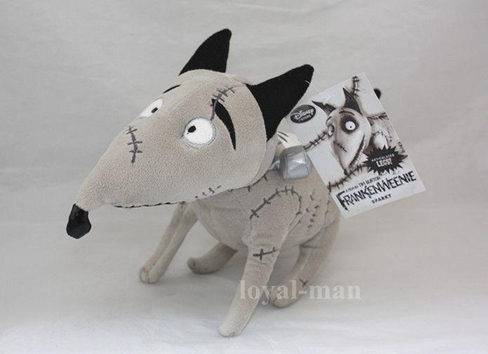 New Disney Store Tim Burton Frankenweenie Dog 14 Sparky Animal Plush Toy Doll Animal Plush Toys Plush Toy Dolls Tim Burton