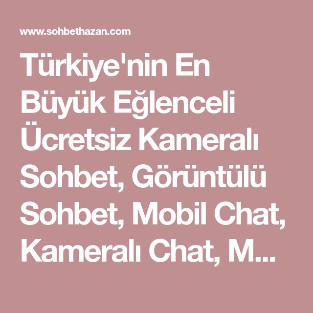 Görüntülü chat türkiye Ome TV
