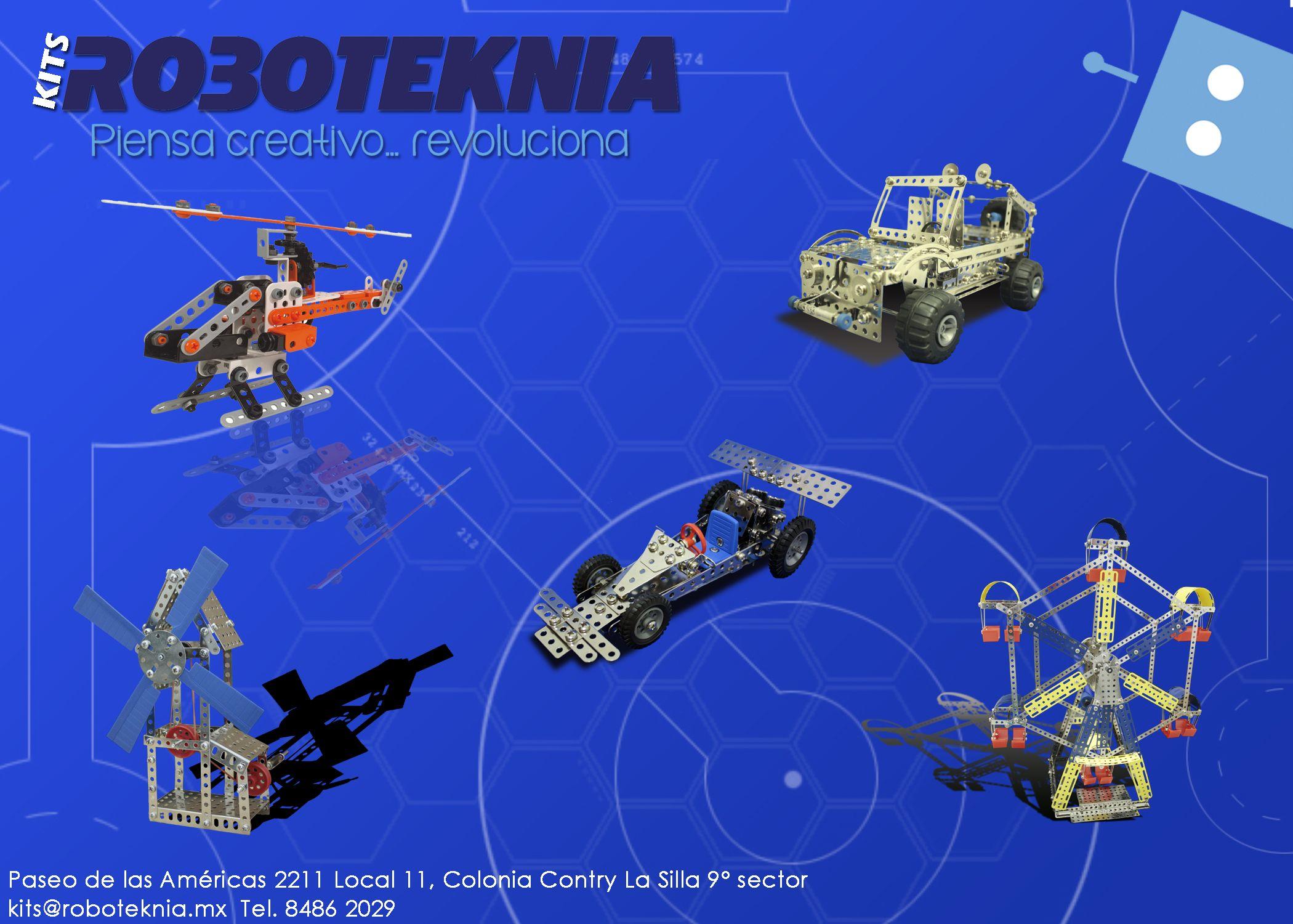 Kits ROBOTEKNIA tiene para ti lo último en kits y productos de robótica educativa. http://www.kitsderobotica.com/ #Jueguetes #Toys #Kids #Ninos #Educacion #Diversion #Creatividad #Eitech