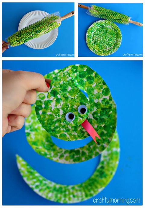 Paper Plate Snake Craft  sc 1 st  Pinterest & Easy Paper Craft Projects You Can Make with Kids \u2013 Page 2 of 2 ...