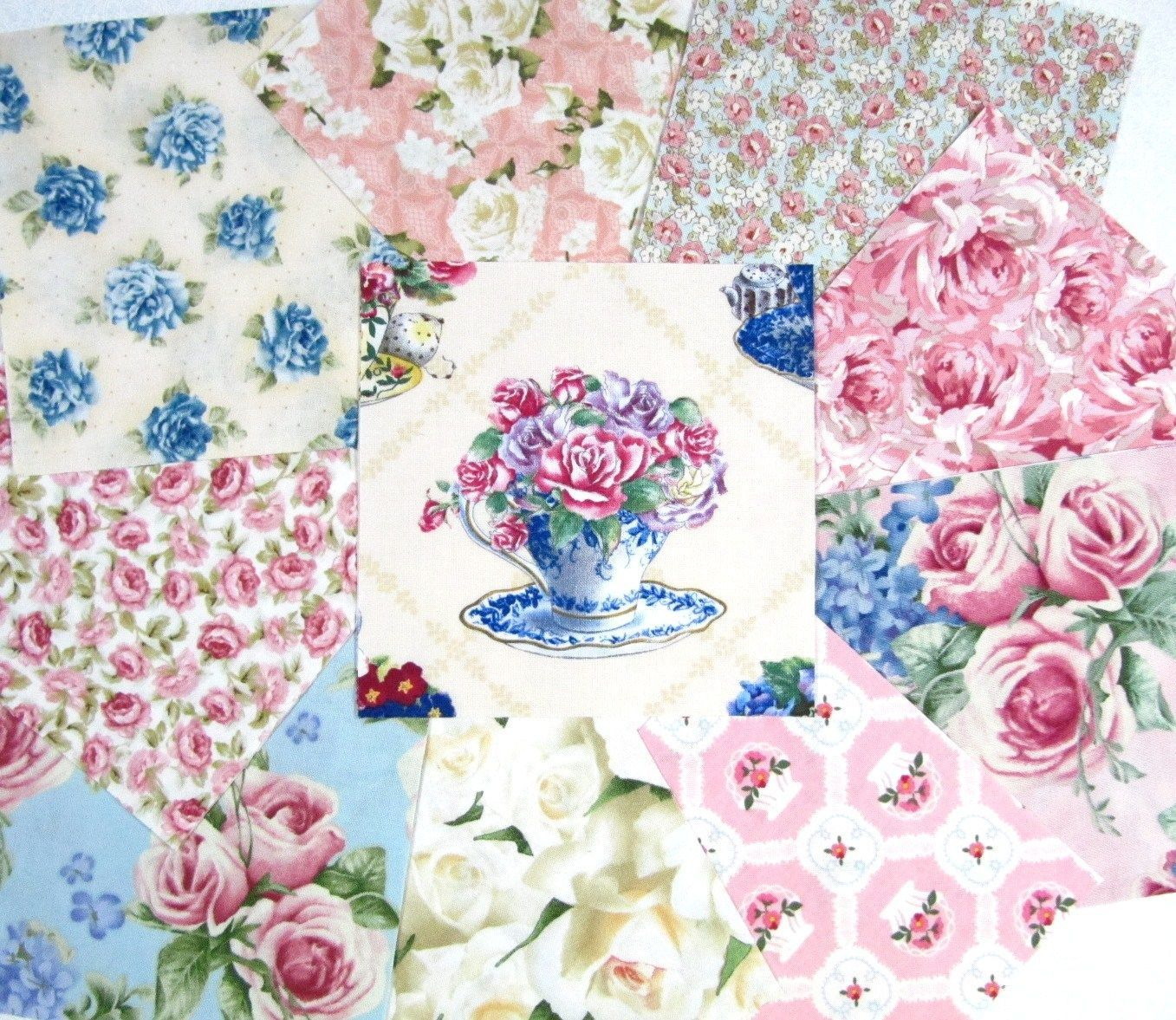 Charm Pack for my next project Tea Cups & Roses