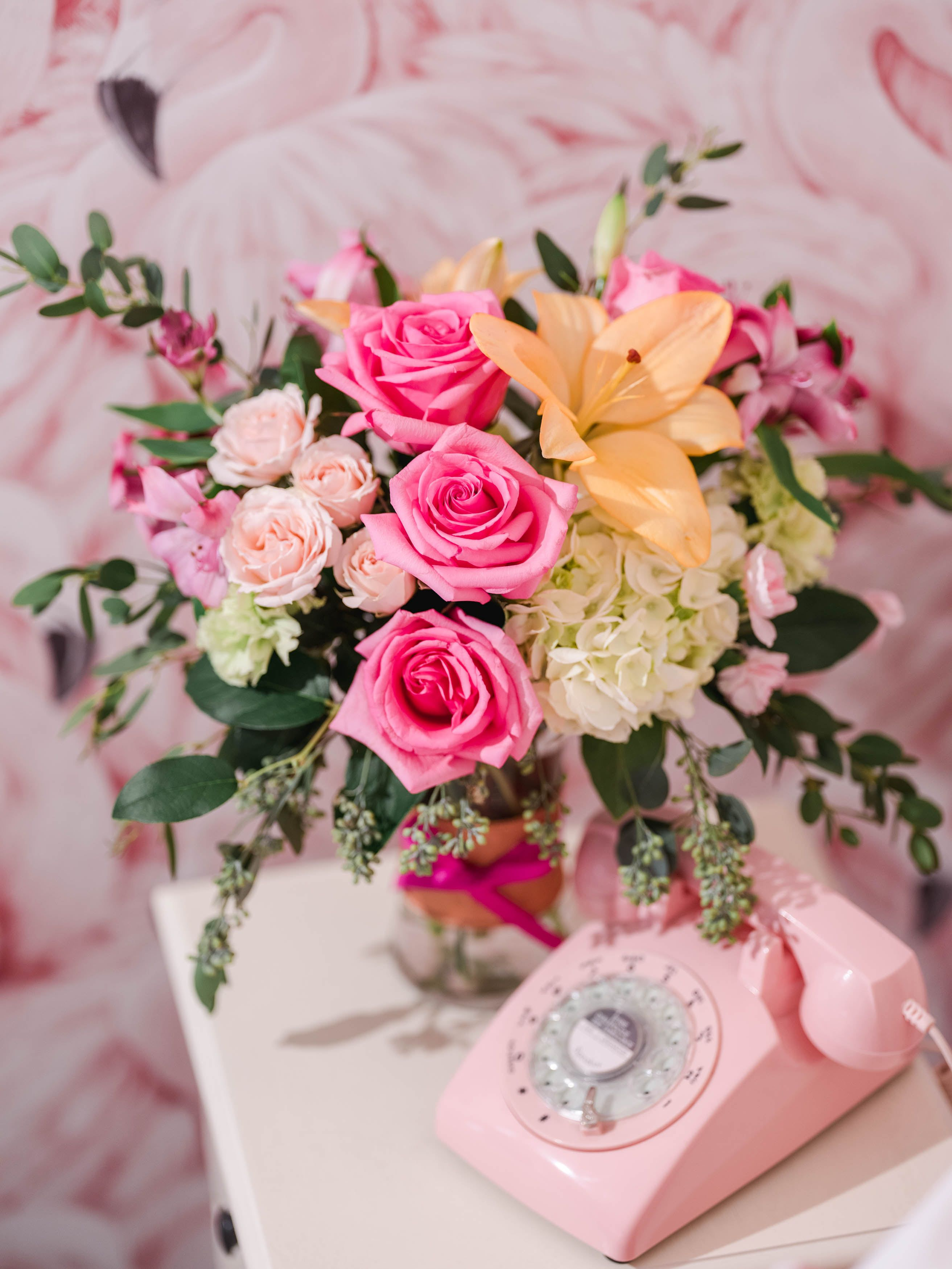 Blush Life Bouquet in 2020 (With images) Valentine's day
