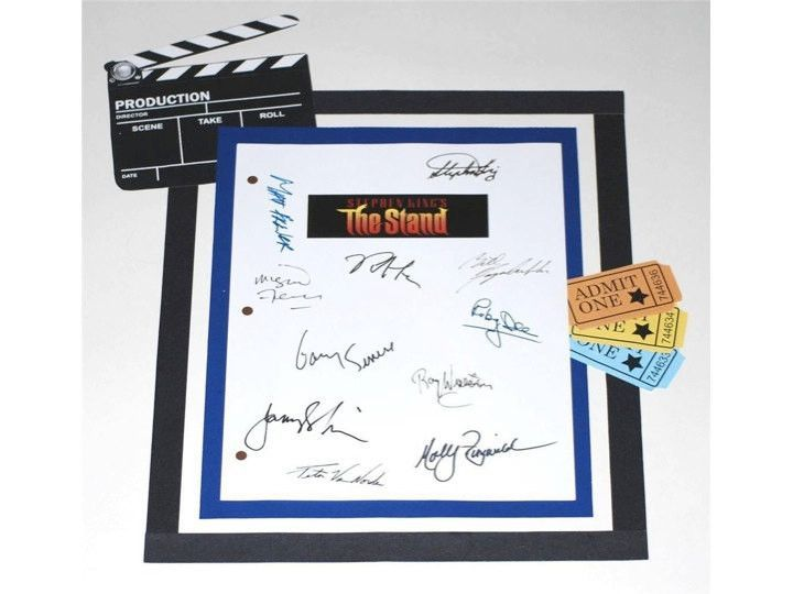 The stand movie screenplay script autographed stephen king molly the stand movie screenplay script autographed stephen king molly ringwald rob lowe gary fandeluxe Gallery