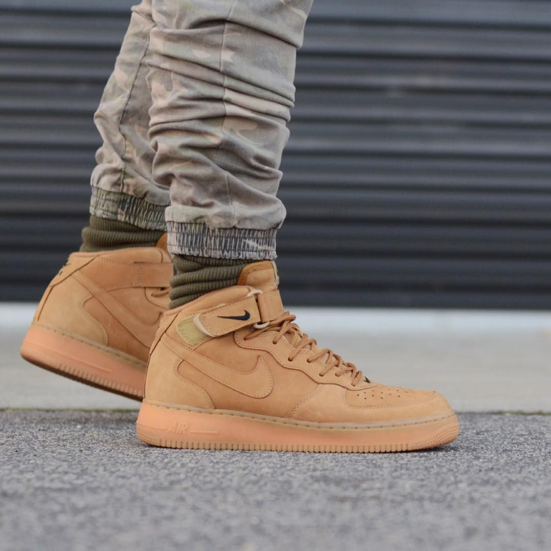 are nike air force 1 mid flax fake people