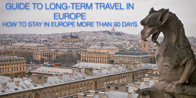 Guide to Long-Term Travel in Europe | The Savvy Backpacker