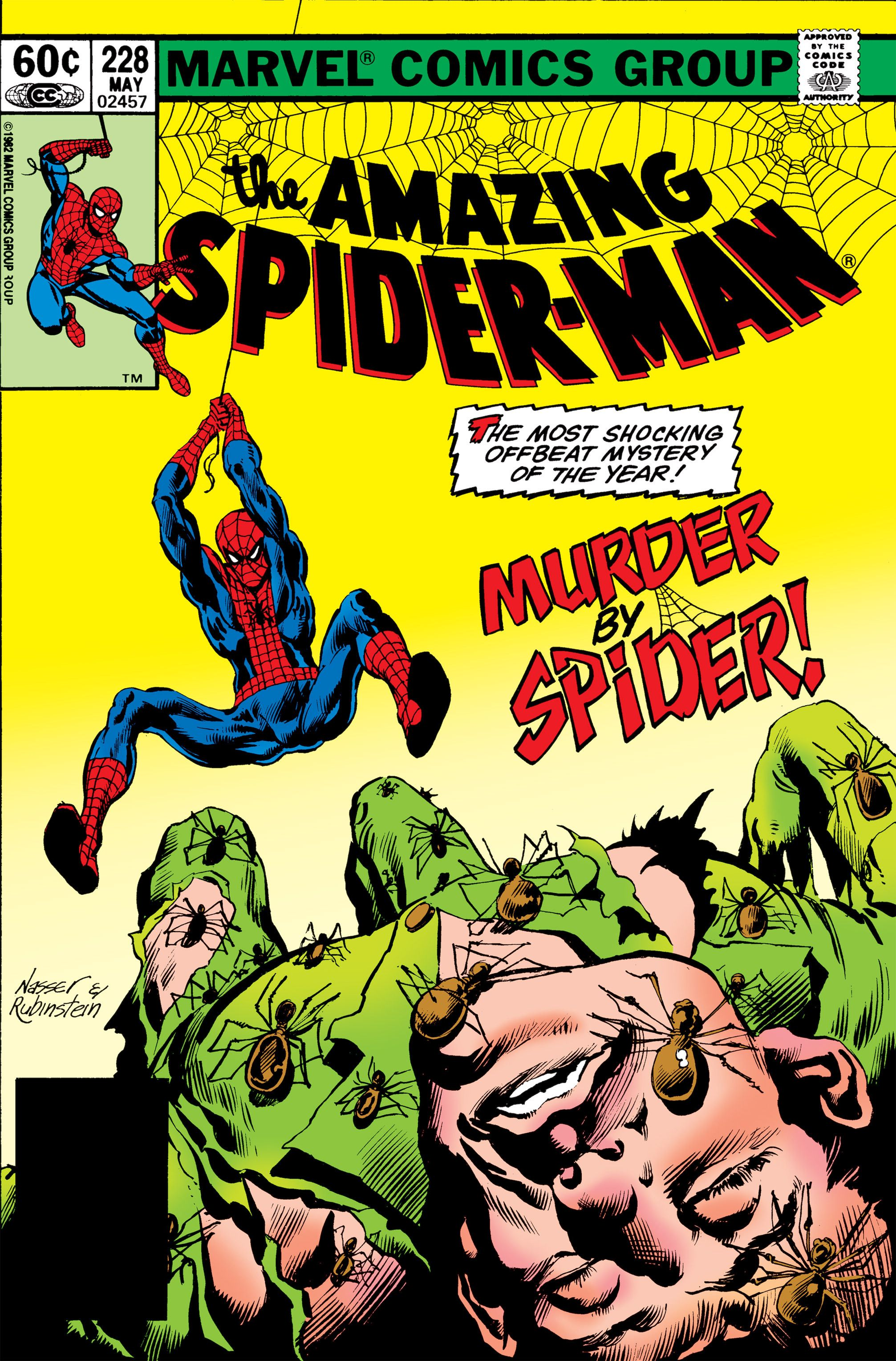 the amazing spider man 1963 issue 228 read the amazing spider