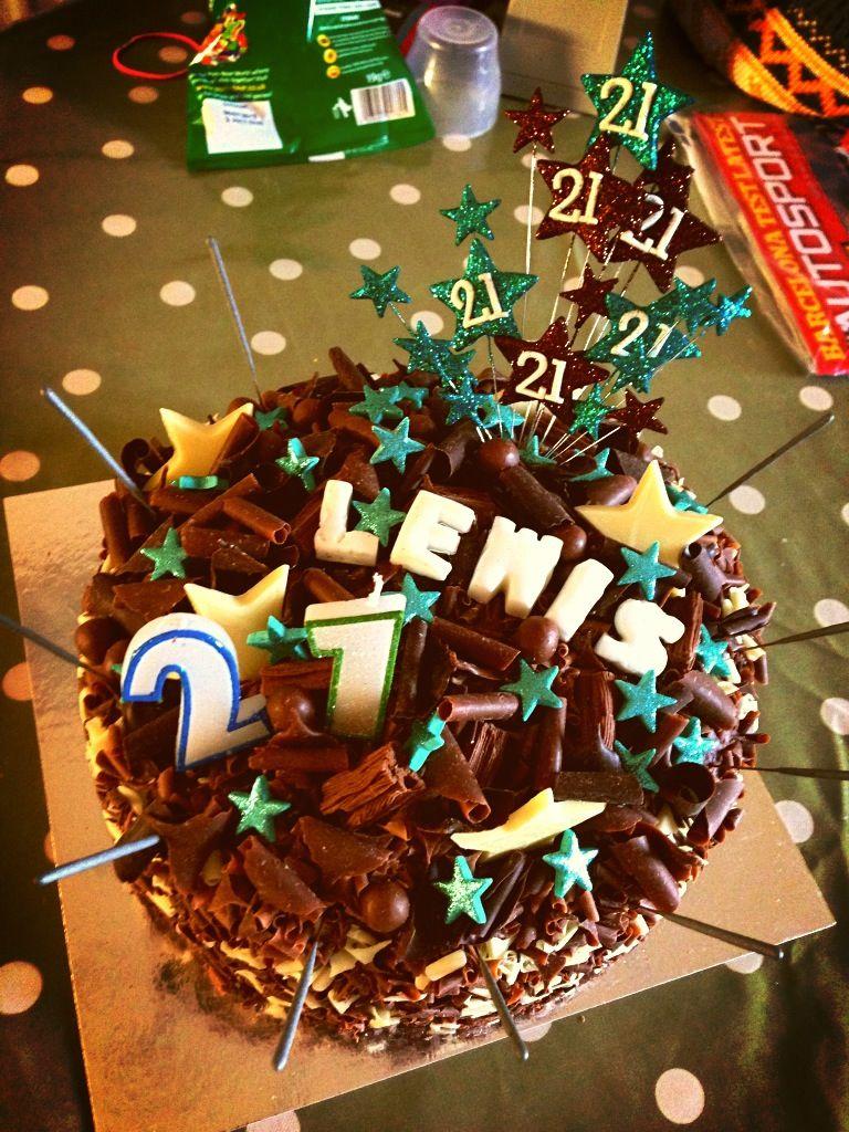DIY birthday cake for beloved boyfriend Let Them Eat