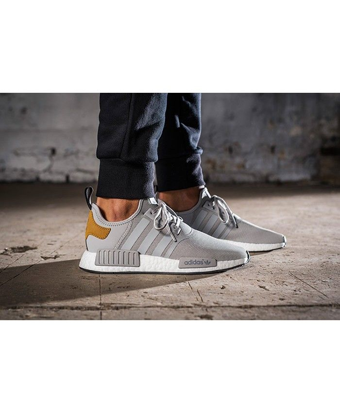 9fd943a808c70 Adidas NMD R1 Mastercraft Grey Tan Shoes