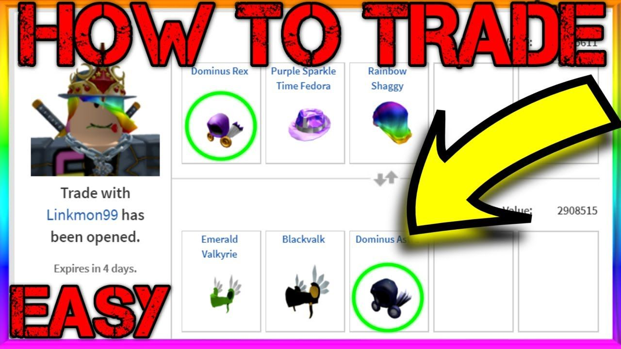 How To Trade On Roblox 2020 Trading Guide In 2020 Roblox