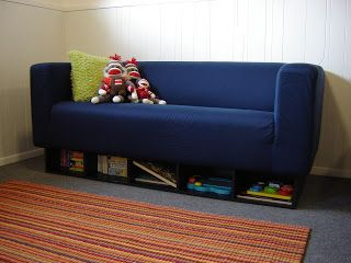 Klippan Couch With Storage Underneath