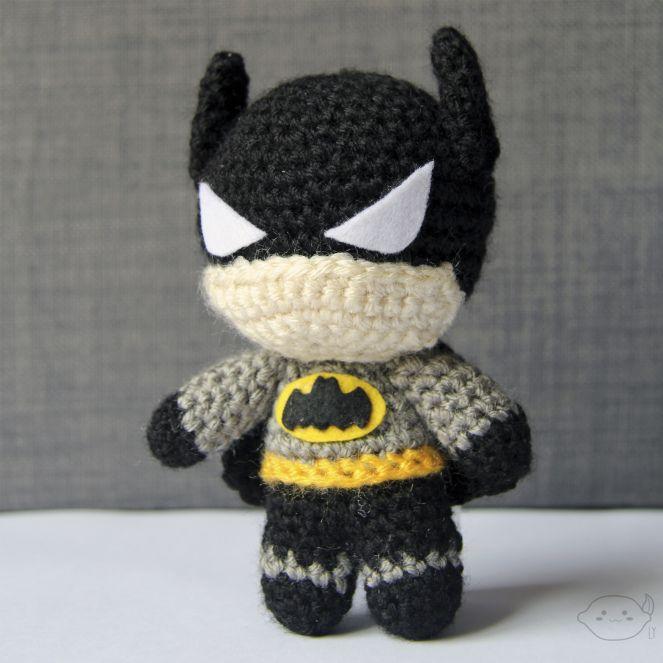 Batman - Crochet Amigurumi #lemonyarncreations #amigurumi #batman ...