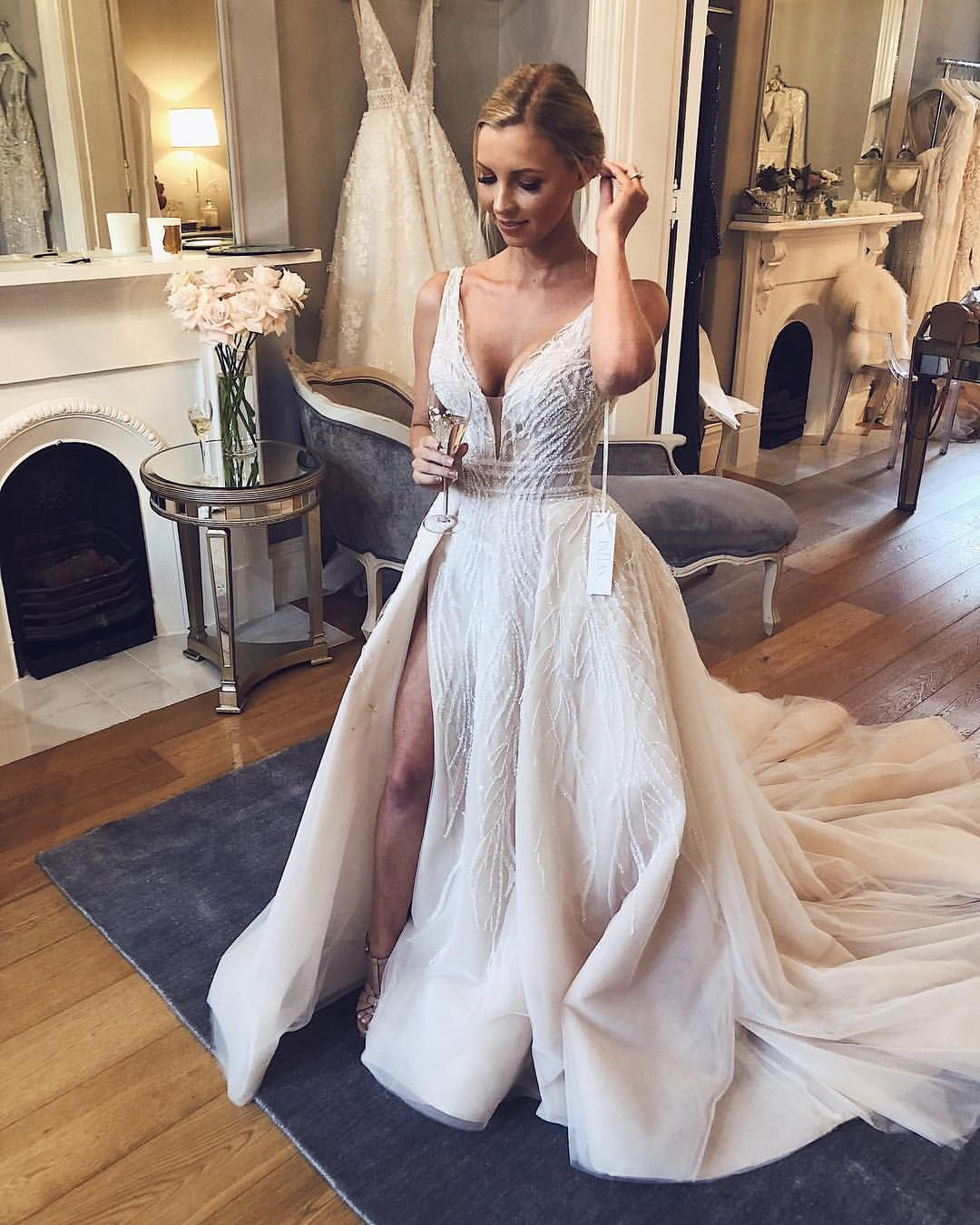 Pallas Couture Sur Instagram Beautiful Hannah At Her Final Fitting In Pallas Haute Couture Hannah Wedding Dress Overskirt Wedding Dresses Buy Wedding Dress