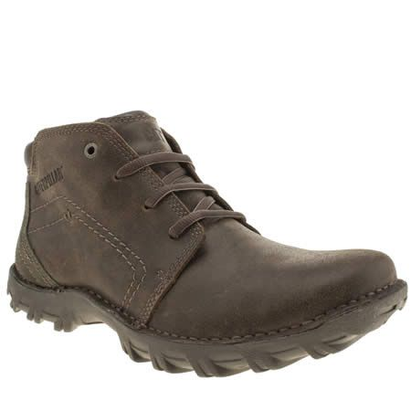 155ab74257 Mens Caterpillar Brown Transform Boots