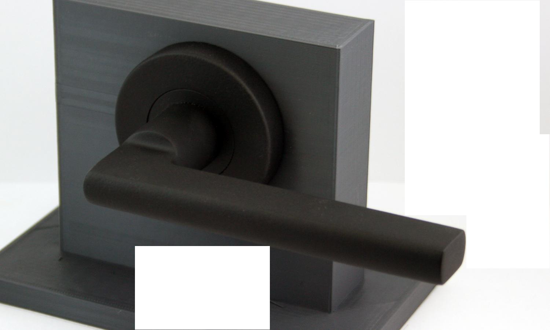 Matte Black Door Hardware Round Artemis Shown Here … | Pinteres…