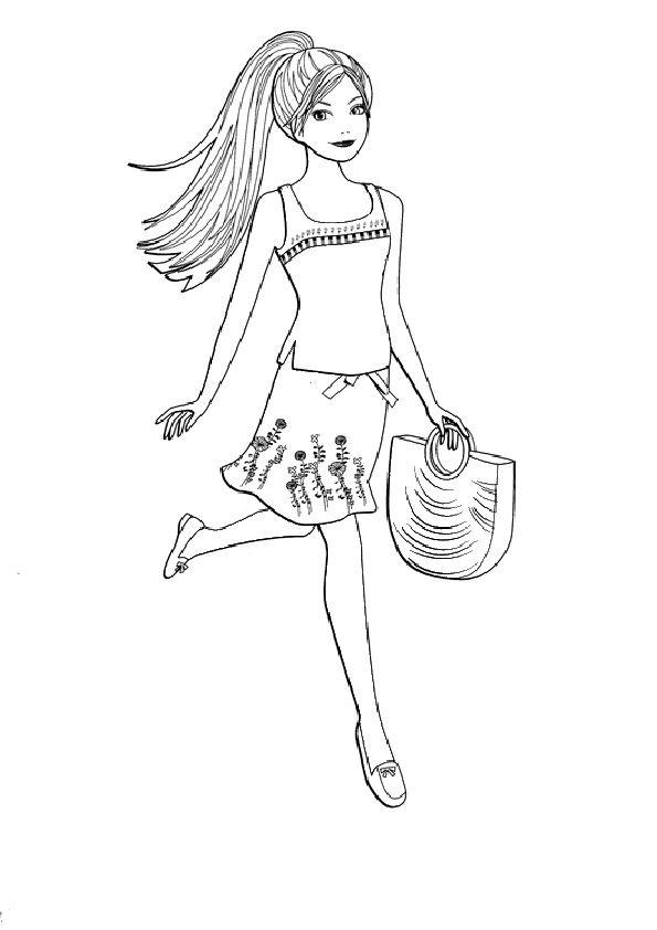 Ausmalbilder Barbie 25 Ausmalbilder Barbie Ausmalen Ausmalbilder