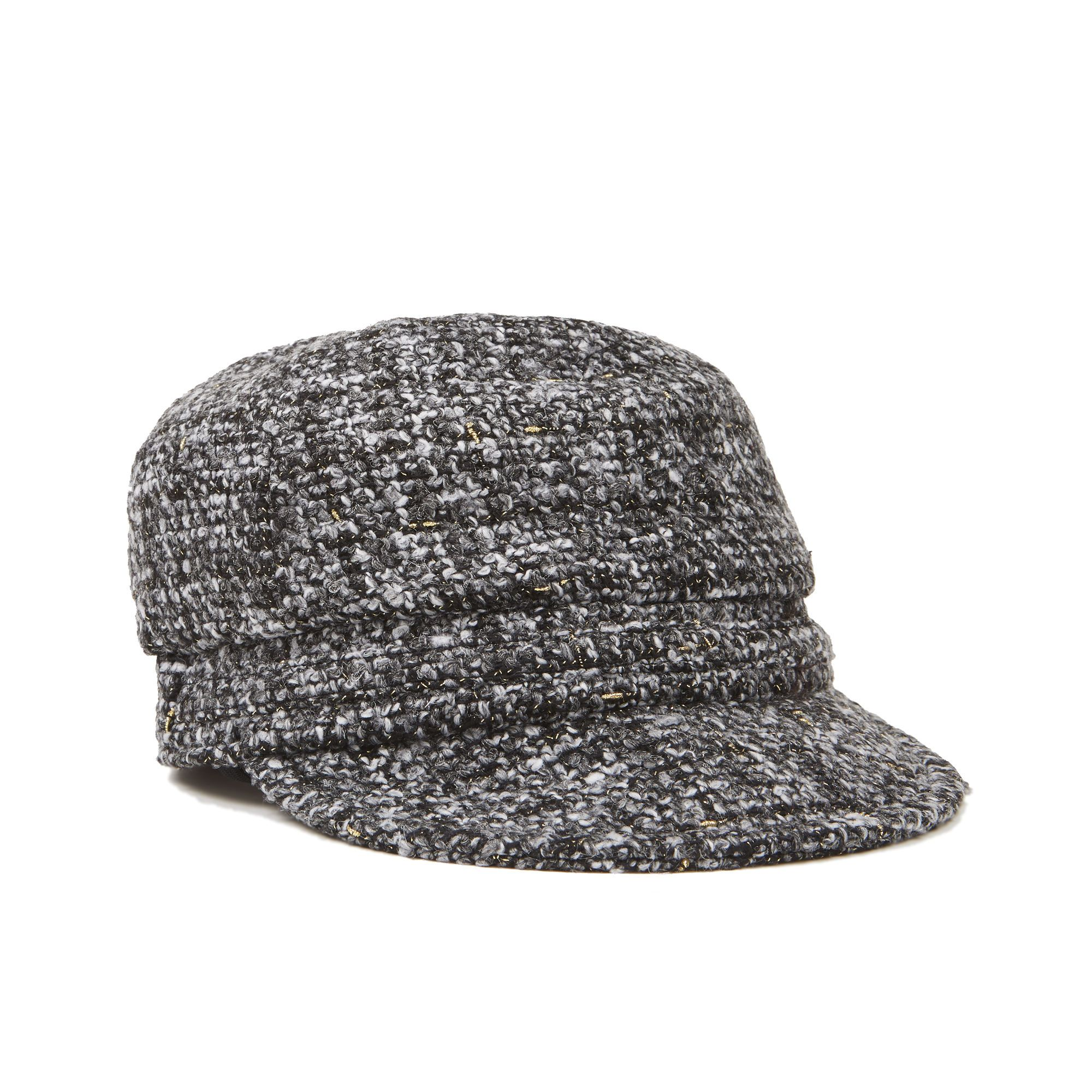 402a4a3a4b5 Tweed Newsboy Cap