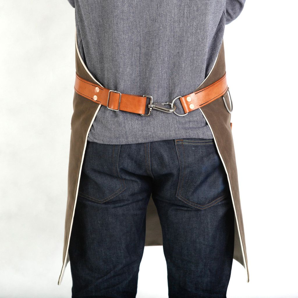 how to make leather apron