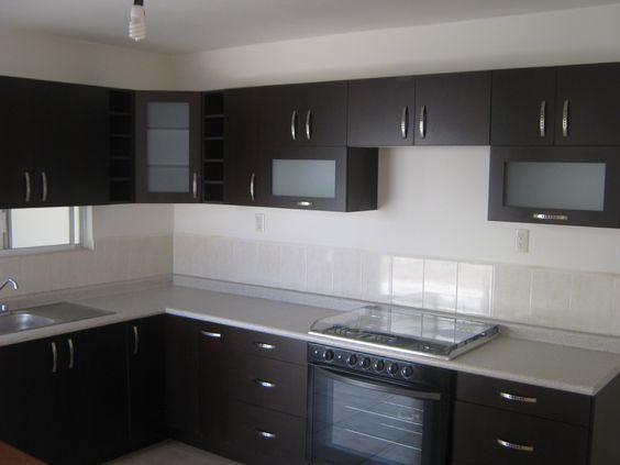 Cocinas integrales modernas para casas peque as color - Cocinas modernas pequenas ...