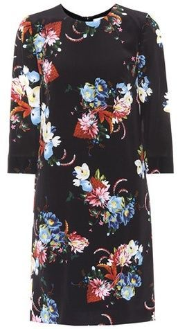 Authentic For Sale Discount Hot Sale Floral-printed silk minidress Erdem Wide Range Of Clearance Low Price Fee Shipping 100% Authentic Online EPhVT5k2