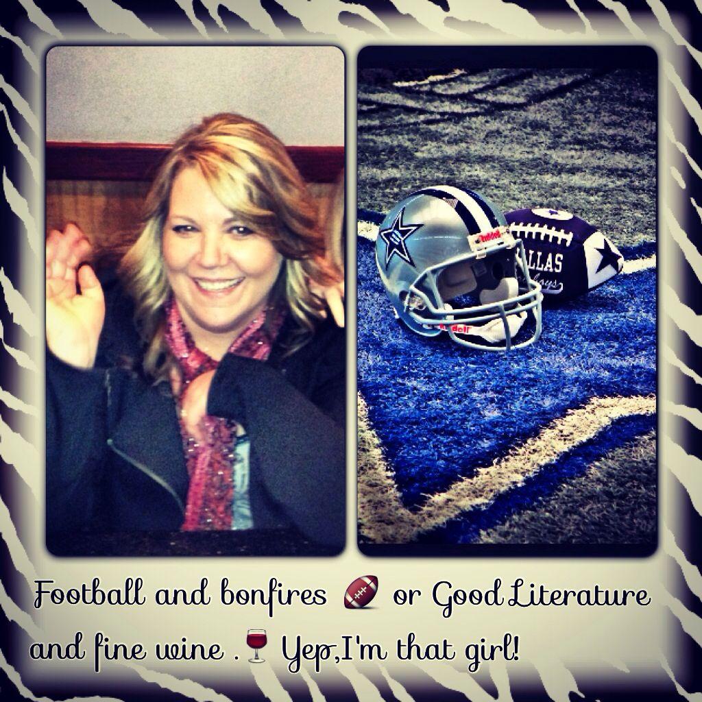 Yep,that's me. Cowboys football, Dallas cowboys football