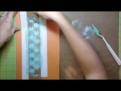DIY Embossing Template - YouTube