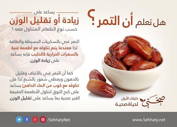 فوائد ومعلومة عن التمر Sweets Recipes Diet Sausage