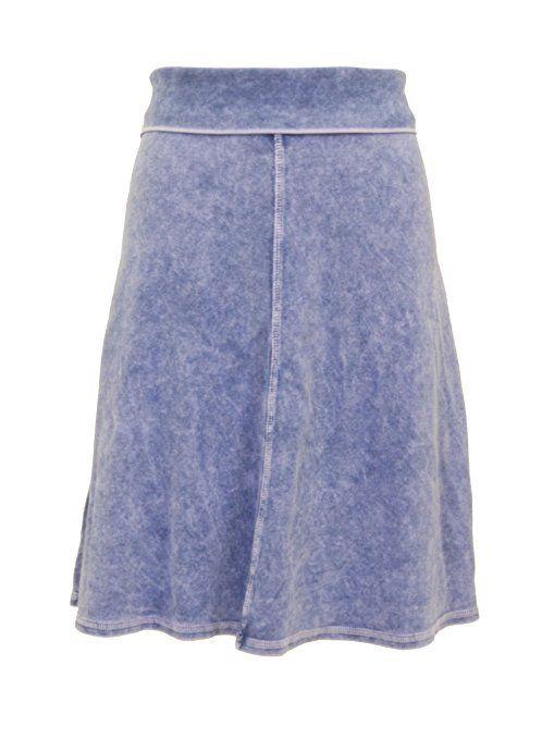abf86d0b86 Hardtail Roll Down Short Skirt (S, Light Denim)   Hardtail Forever ...