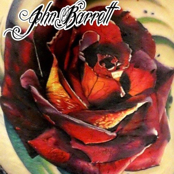 John Barrett at Black 13 Tattoo Parlor in Nashville, TN, getting my next tattoo here!