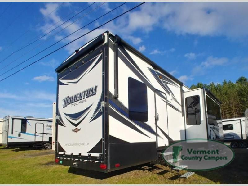 Used 2017 Grand Design Momentum MClass 395M Toy Hauler