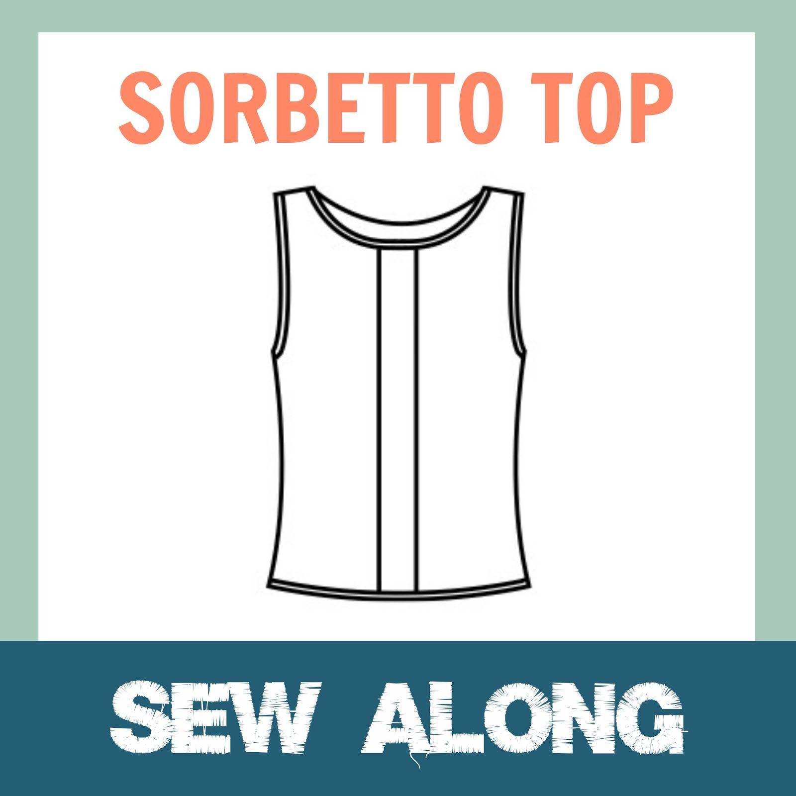 Hallo allemaal!    De Sorbetto Sew Along zit er weer op! Ik vond het leuk om te organiseren en ik zag al veel enthousiaste naaisters die ...