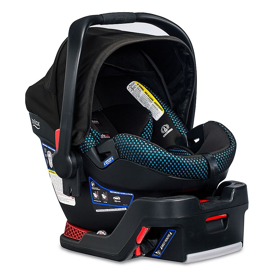 Britax B-Safe Ultra Cool Flow Car Seat In Teal